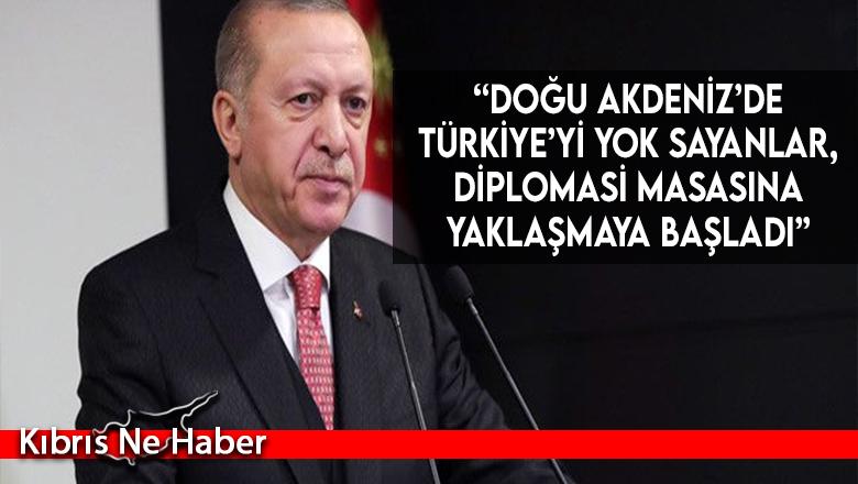"""""""Doğu Akdeniz'de Türkiye'yi yok sayanlar, diplomasi masasına yaklaşmaya başladı"""""""