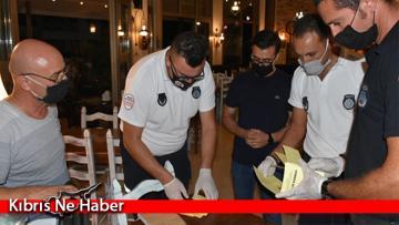 Girne Belediyesi, Sağlık Bakanlığı ile birlikte ortak Covid-19 denetimleri gerçekleştirdi