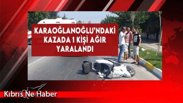 Karaoğlanoğlu'ndaki Kazada 1 Kişi Ağır Yaralandı!