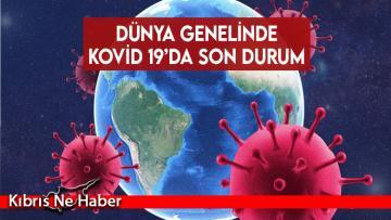 Dünyada COVID-19 salgınında son rakamlar