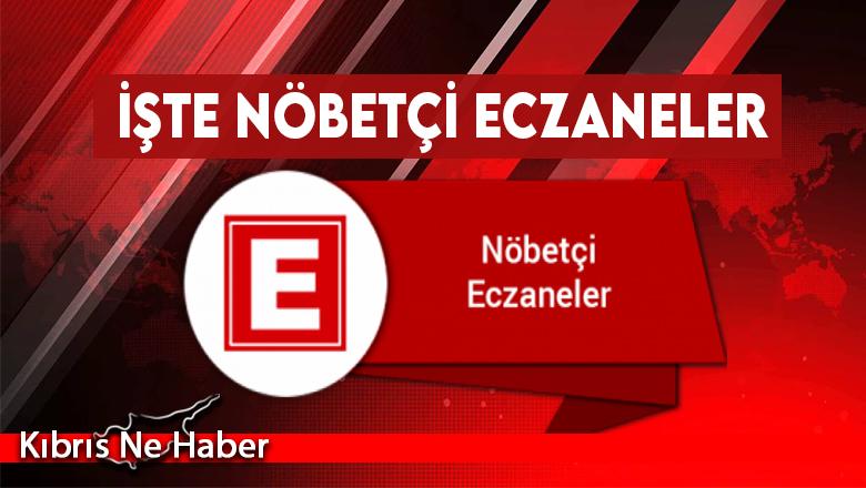 Nöbetçi Eczaneler-9 Mayıs 2021