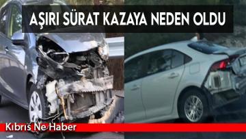 Direksiyon Hakimiyeti Kaybetti, Kaza Yaptı!