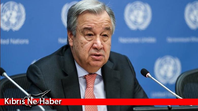 """""""Guterres ortak zemin ve vizyon istiyor"""""""