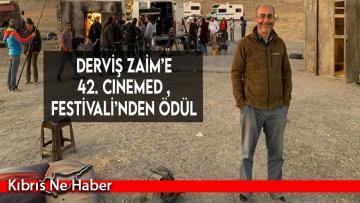 Derviş Zaim'e 42. Cinemed Festivali'nden ödül