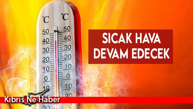 Sıcaklık mevsim normallerinin 8 derece üstünde!