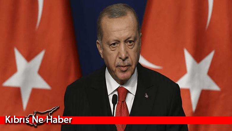 """Erdoğan: """"Kıbrıs'ı çözümsüzlüğe mahkum etmek isteyen zihniyete müsamaha göstermeyeceğiz"""""""