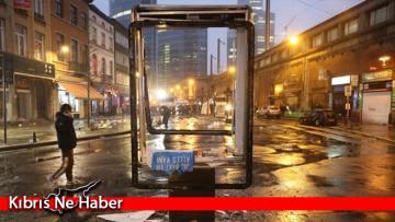 Brüksel sokakları karıştı! Şehir merkezi savaş alanına döndü
