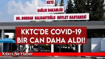 KKTC'de Covid-19'dan bir ölüm daha