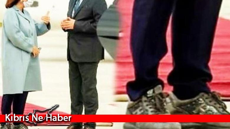 Yunan Cumhurbaşkanı'nın ayakkabıları tepki çekti