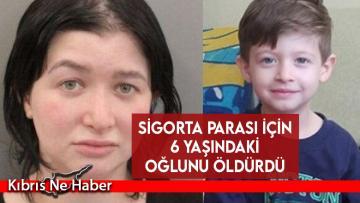 Sigorta parası için 6 yaşındaki oğlunu öldürmekle suçlanıyor