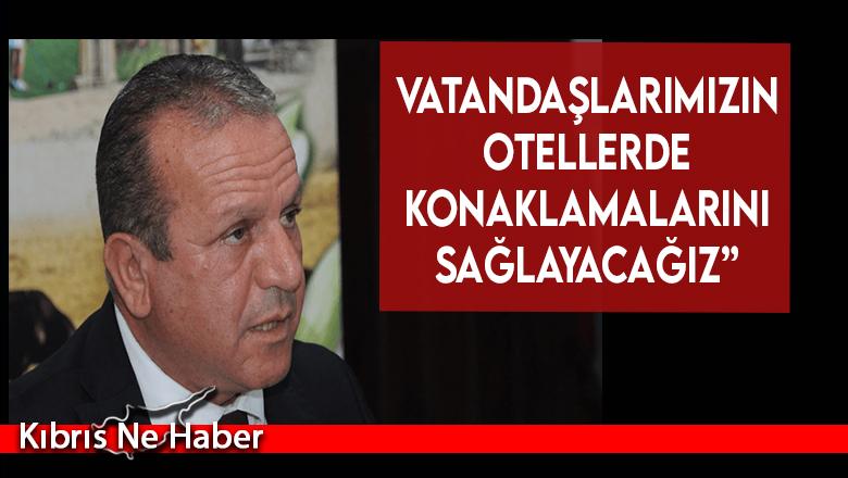"""Fikri Ataoğlu: """"İç turizm de önemli, vatandaşlarımızın otellerde konaklamalarını sağlayacağız"""""""