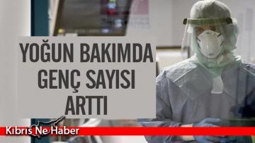 Türkiye'de yoğun bakımdaki genç sayısı arttı