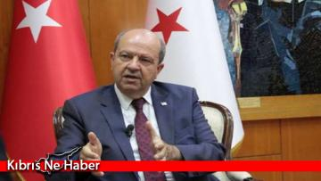 """Ersin Tatar'dan AB'ye çağrı: """"Kıbrıs konusunda izlediği tek yanlı tutumuna son vermeli"""""""
