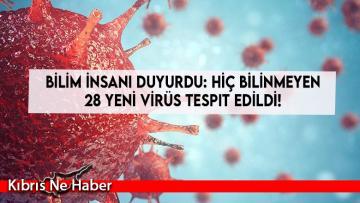Bilim insanı duyurdu: Hiç bilinmeyen 28 yeni virüs tespit edildi!