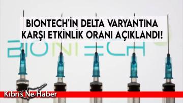 BioNTech'in Delta varyantına karşı etkinlik oranı açıklandı!