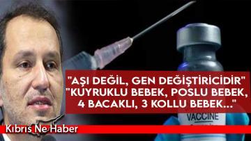 Erbakan'dan '3 kulaklı, 5 gözlü yaratıklar' açıklaması