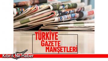 Türkiye Gazetelerinin Manşetleri – 15 Ekim 2021