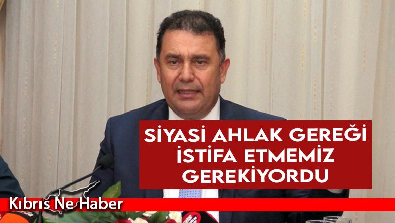 """""""EN ERKEN ZAMANDA SEÇİME GİDİLMESİ KAÇINILMAZ"""""""
