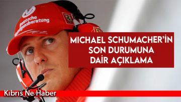 Michael Schumacher'in son durumuna dair açıklama