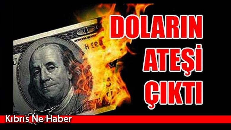 Dolar 9.0013 seviyesini gördü…