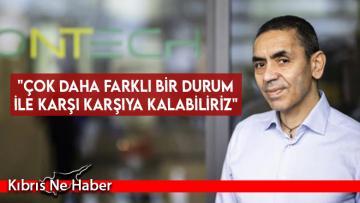 Prof. Dr. Uğur Şahin'den korkutan açıklama!