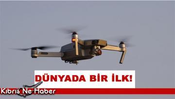 Dünyada bir ilk… Hastaya nakledilecek akciğer drone ile taşındı!